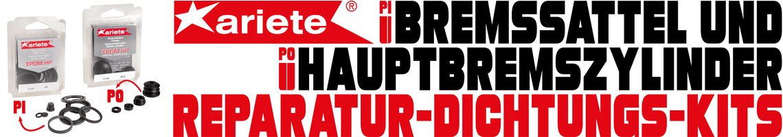 ARI PI/PO Bremssattel-Bremszylinder-Dichtungs-Kits