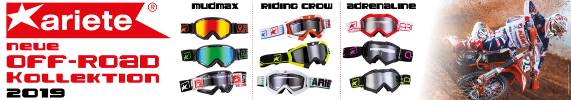Ariete Goggles OFFROAD Banner 2019