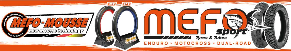 Mefo Reifen - Mousse Banner
