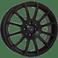 Europe-Rom-60x15-LK4/100-ET38-schwarz-matt-lackiert