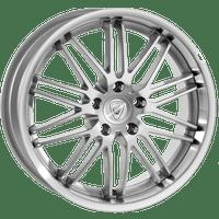 Aluett-Typ-12-95x19-LK5/112-ET20-silber-Horn-poliert
