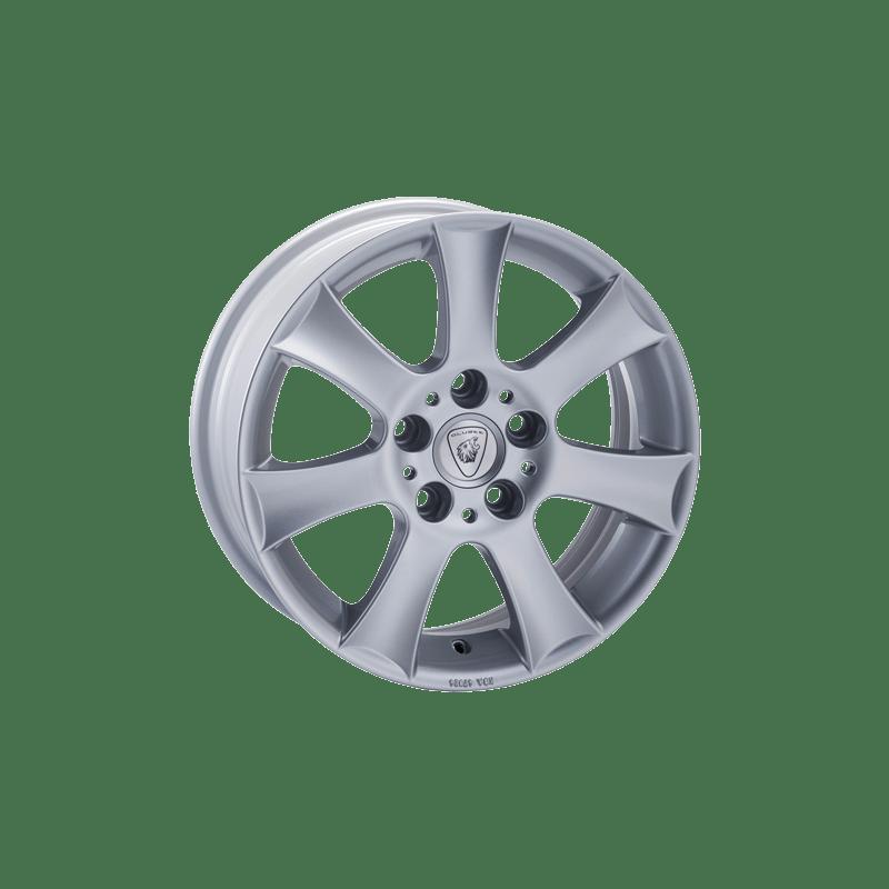Aluett-Typ-13-70x16-LK5/112-ET48-silber-lackiert