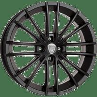 Aluett-Typ-16-55x14-LK4/100-ET45-schwarz-matt-lackiert