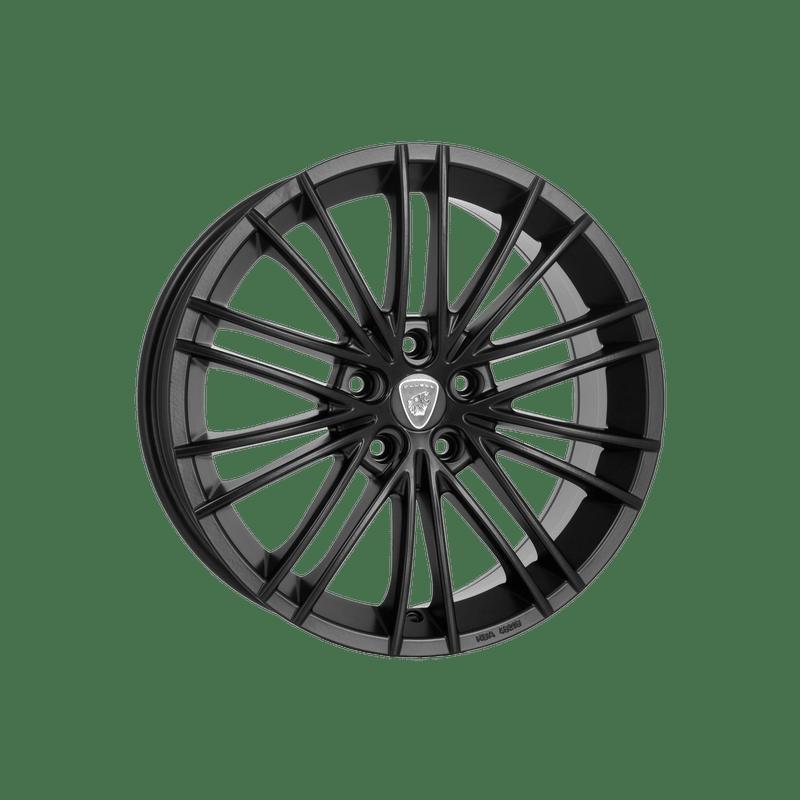 Aluett-Typ-16-80x18-LK5/114-ET45-schwarz-matt-lackiert