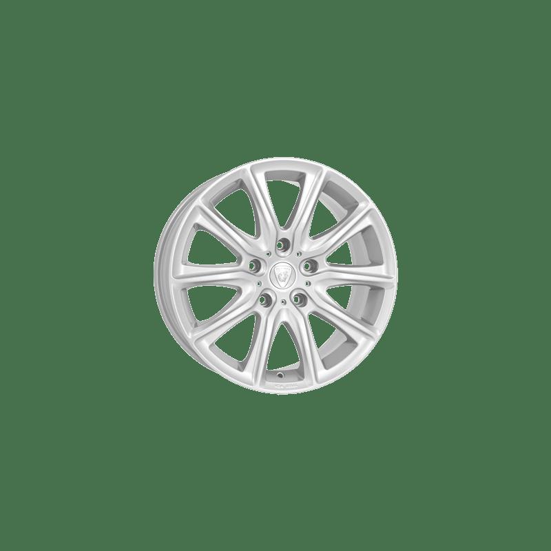 Aluett-Typ-18-65x16-LK5/112-ET48-silber-lackiert