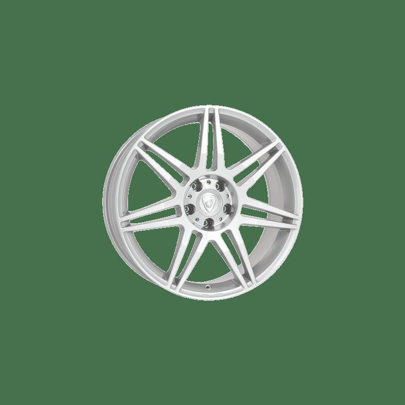 Aluett-Typ-28-75x16-LK5/120-ET38-silber-lackiert