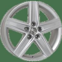 Aluett-Typ-32-65x16-LK5/112-ET48-silber-lackiert