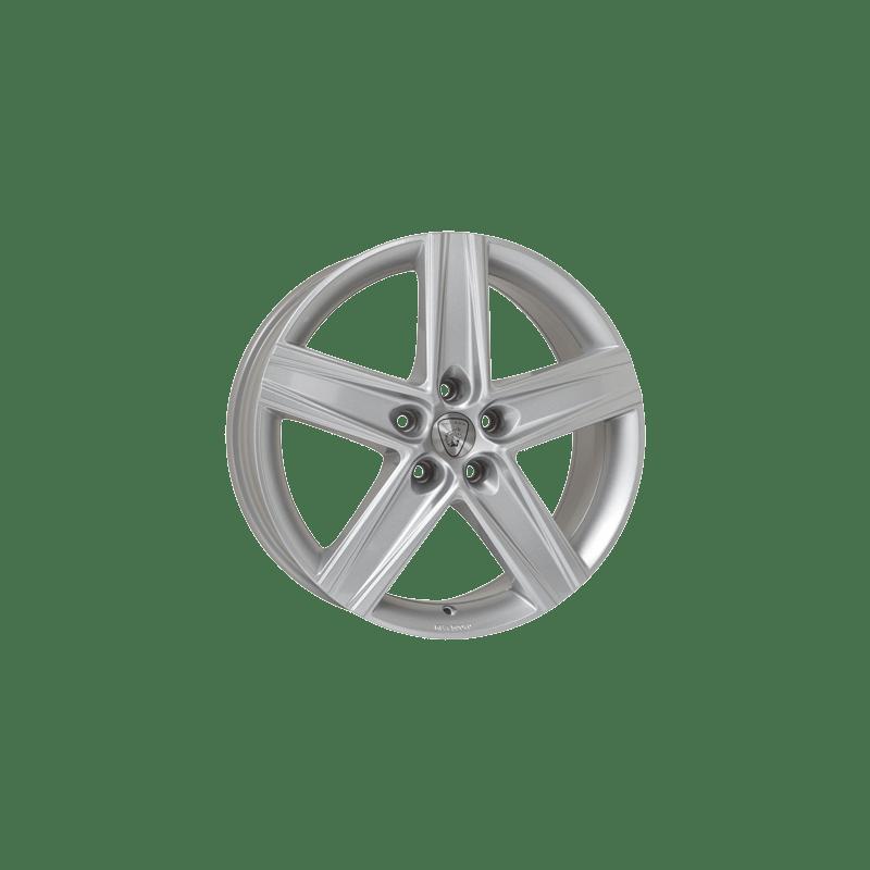 Aluett-Typ-32-75x17-LK5/108-ET47-silber-lackiert