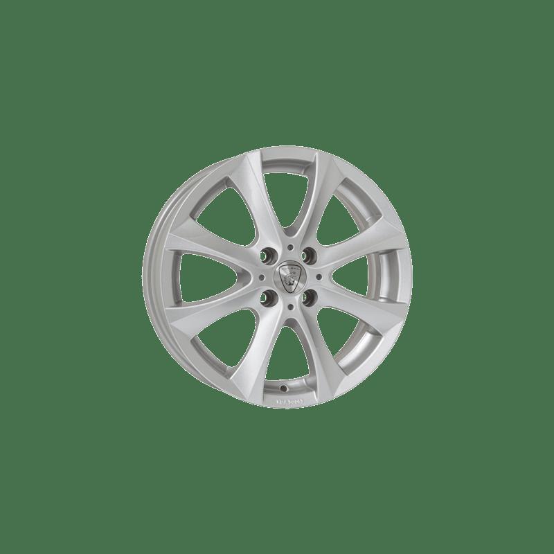 Aluett-Typ-40-55x15-LK4/100-ET38-silber-lackiert