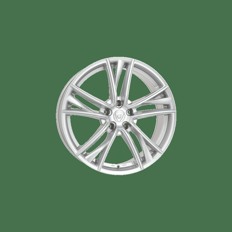 Aluett-Typ-41-85x18-LK5/108-ET45-silber-lackiert