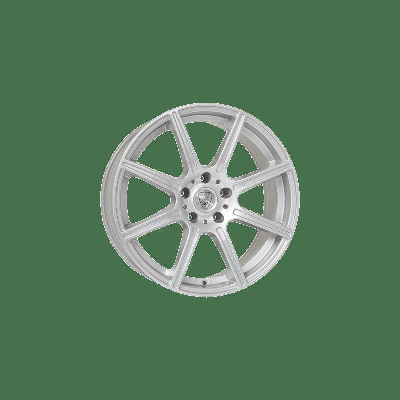 Aluett-Typ-42-85x19-LK5/114-ET40-silber-lackiert