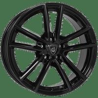 Aluett-Typ-56-75x17-LK5/112-ET45-schwarz-glänzend-lackiert