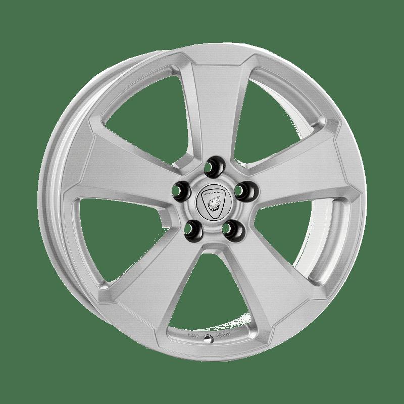 Aluett-Typ-87-70x16-LK5/100-ET46-silber-lackiert