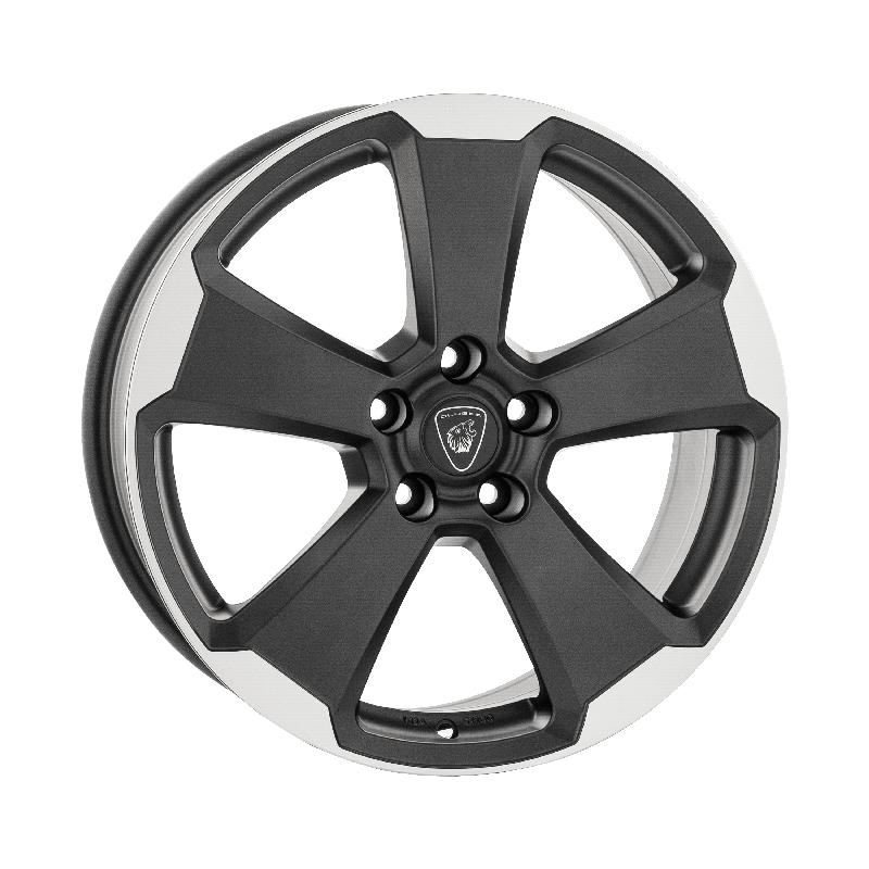 Aluett-Typ-87-70x17-LK5/105-ET40-graphit-matt-poliert