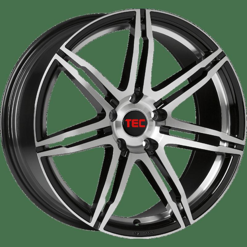 TEC-Typ-GT2-EVO-85x20-LK5/120-ET35-schwarz-poliert