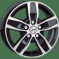 Autec-Tyo-Q-65x16-LK5/160-ET60-schwarz-poliert