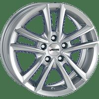 Autec-Typ-Y-65x15-LK5/108-ET45-silber-lackiert