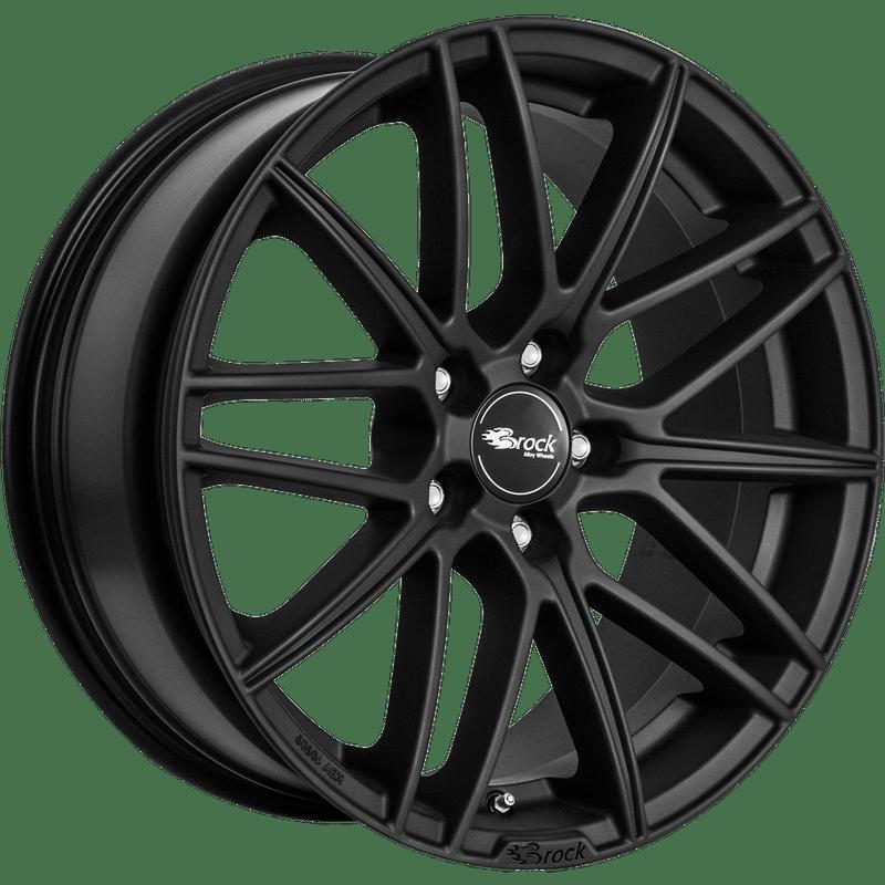Brock-Typ-B34-75x17-LK5/114-ET45-schwarz-matt-lackiert