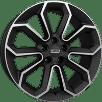 CMS-Typ-C20-80x18-LK5/108-ET47-schwarz-matt-poliert