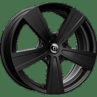 Diewe-Matto-75x18-LK5/112-ET52-schwarz-matt-lackiert