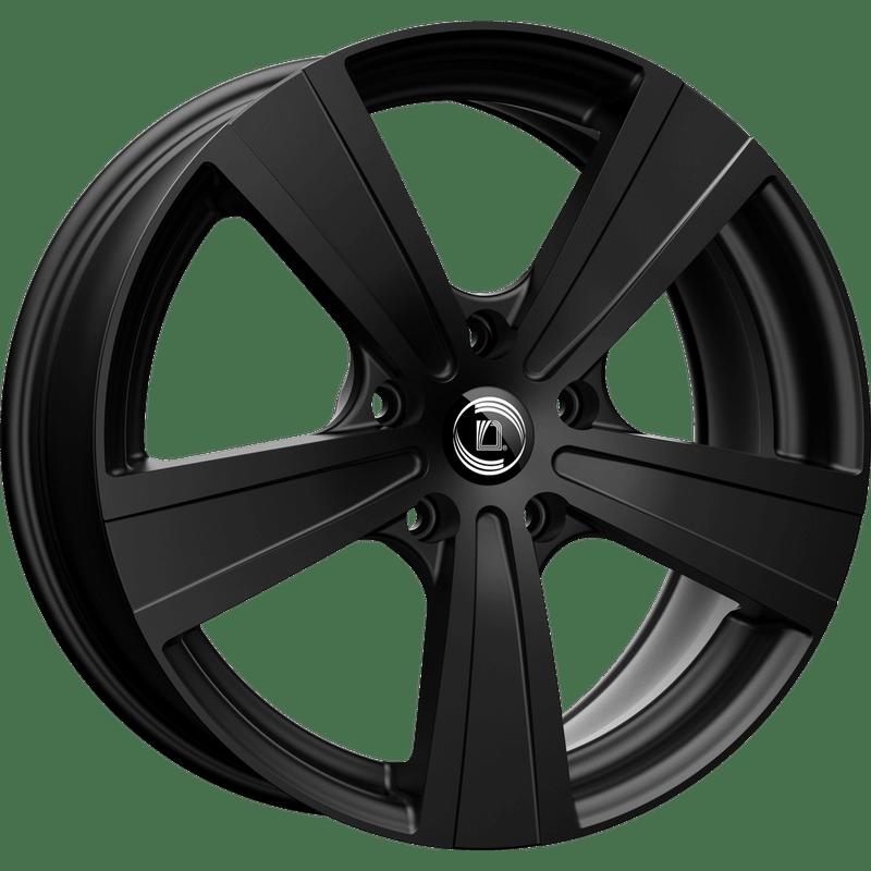 Diewe-Matto-75x18-LK5/108-ET52-schwarz-matt-lackiert