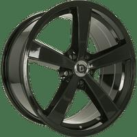 Diewe-Trina-70x17-LK5/112-ET42-schwarz-matt-lackiert