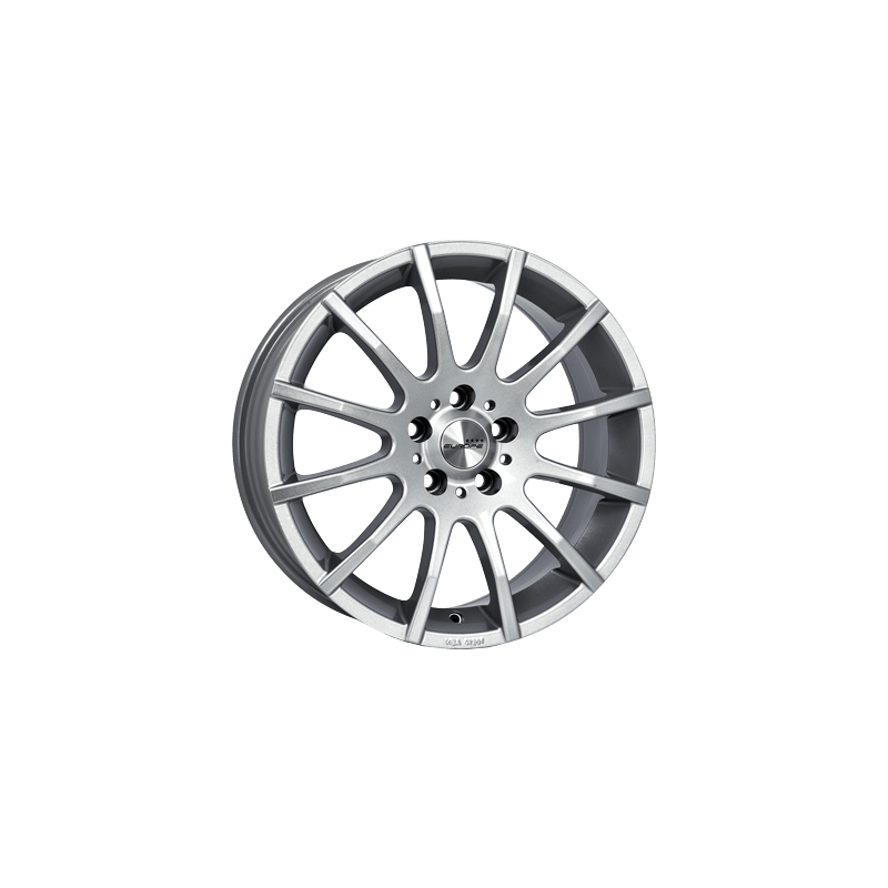 Europe-Rom-70x16-LK5/110-ET40-silber-lackiert