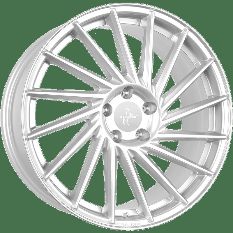 Keskin-Typ-KT17-80x18-LK5/120-ET35-silber-lackiert