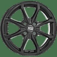 MSW-Typ-X4-55x14-LK4/100-ET35-schwarz-matt-lackiert