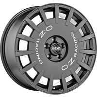 OZ-Rally-Racing-70x17-LK4/100-ET45-graphit-lackiert-mit-silberner-Schrift