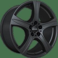 Ronal-Typ-R55-90x19-LK5/127-ET48-schwarz-matt-lackiert