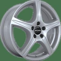 Ronal-Typ-R56-60x15-LK4/100-ET43-silber-lackiert