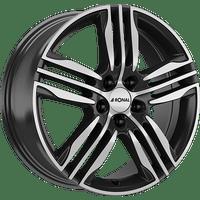 Ronal-Typ-R57-75x17-LK5/112-ET35-schwarz-poliert
